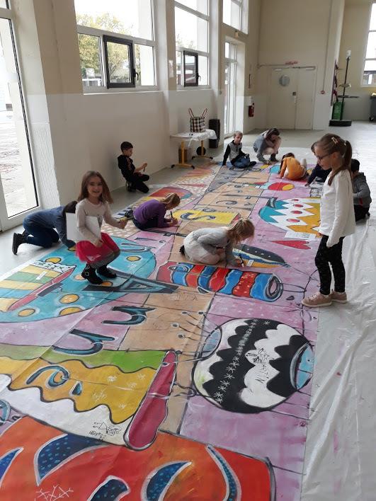 Natoucolor Natou Atelier Expression Artistique Arts Plastiques Intervention